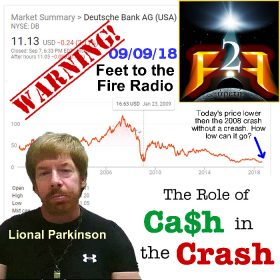 the role of cash in the crash