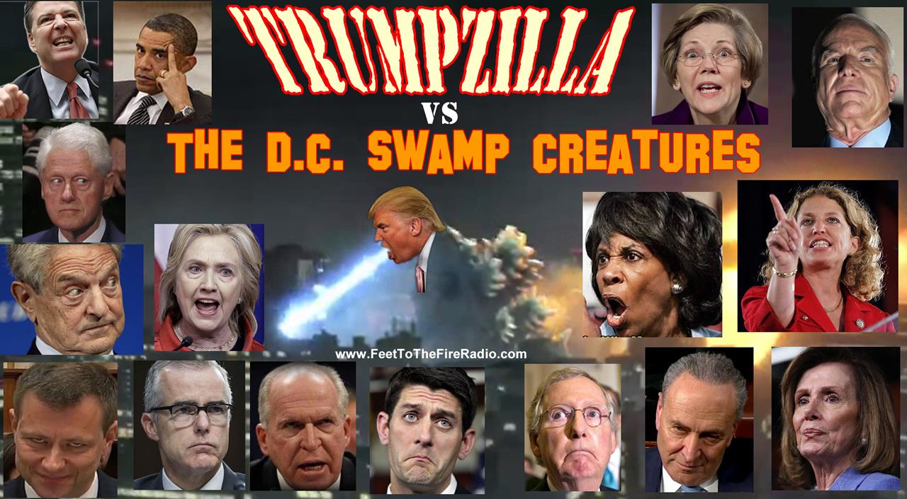 Trumpzilla #DrainTheSwamp #MAGA