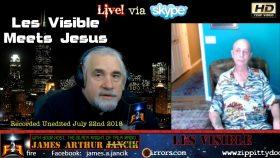 Les Visible meets Jesus Christ